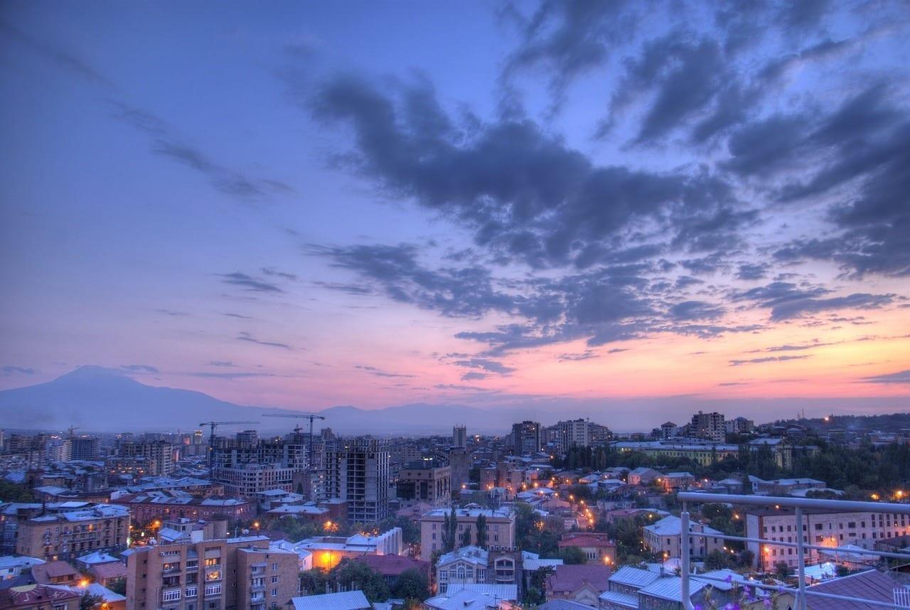 Yerevan Armenia Ciudad Colombia