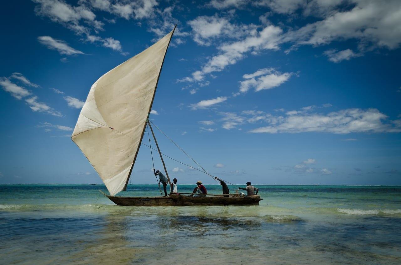 Zanzíbar Barco Vela Tanzania
