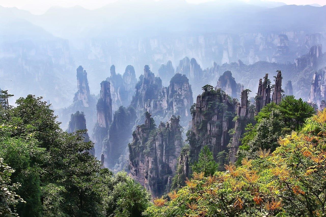 Zhangjiajie Paisaje Viajes China