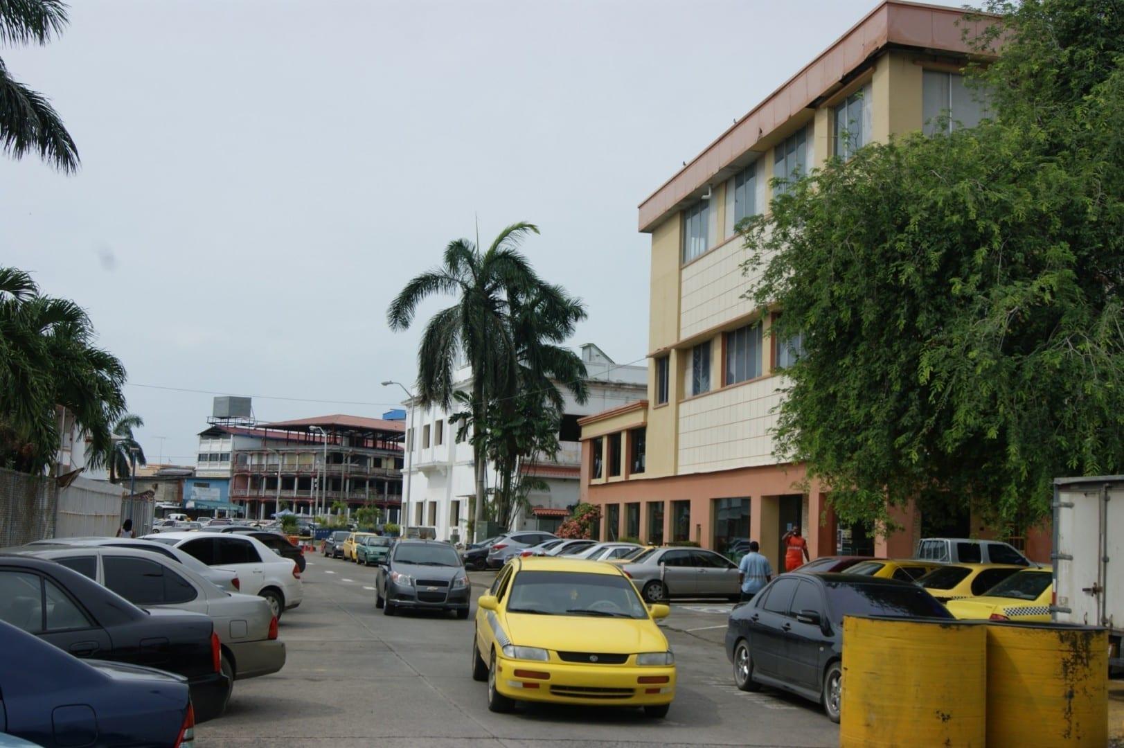 Zona portuaria de Cristóbal. Colon Panamá